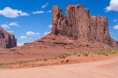 Het Stammenpark van Navajo van de monumentenvallei Royalty-vrije Stock Foto's