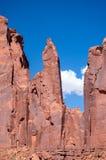 Het Stammenpark van Navajo van de monumentenvallei Royalty-vrije Stock Fotografie