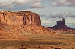 Het stammenpark van Navajo van de Monumentenvallei, Utah-Arizona, de V.S. Royalty-vrije Stock Afbeeldingen