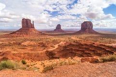 Het stammenpark van Navajo van de Monumentenvallei, Utah-Arizona, de V.S. Stock Foto