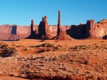 Het StammenPark van Navajo van de Vallei van het monument stock fotografie
