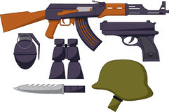Het Standaardwapen van Leger vector illustratie