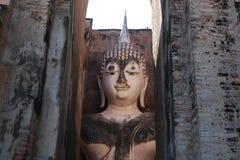 Het standbeeld Thailand van tempelboedha Stock Foto's