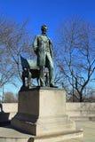 Het Standbeeld van Abraham Lincoln Stock Afbeeldingen
