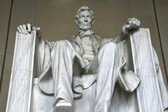 Het Standbeeld van Abraham Lincoln Stock Fotografie