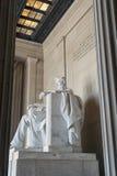 Het Standbeeld van Abraham Lincoln Stock Afbeelding