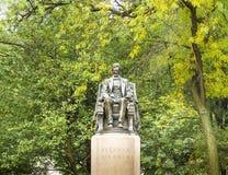 Het Standbeeld van Abraham Lincoln Stock Foto's