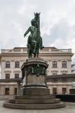 Het standbeeld van Albertina Stock Foto's