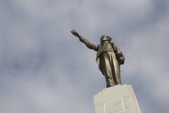 Het standbeeld van Alves van Castro stock afbeelding