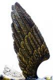 Het standbeeld van ambachtvleugels Stock Afbeeldingen