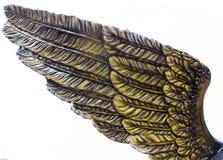 Het standbeeld van ambachtvleugels Stock Fotografie