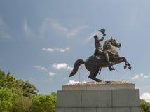 Het Standbeeld van Andrew Jackson stock afbeeldingen