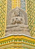 Het standbeeld van Boedha. Stock Fotografie