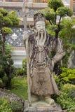 Het standbeeld van Boedha. Stock Foto's