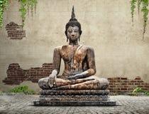 Het standbeeld van Boedha stock fotografie
