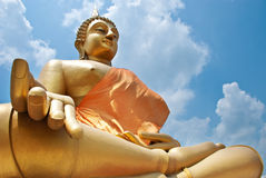 Het standbeeld van Boedha royalty-vrije stock foto's