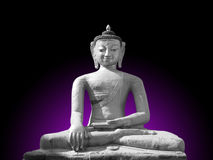 Het Standbeeld van Boedha Aksobhya van Dhyani Royalty-vrije Stock Foto's