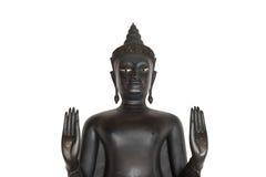 Het standbeeld van Boedha als amuletten van Boeddhismegodsdienst die wordt gebruikt Stock Foto's