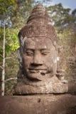 Het Standbeeld van Boedha, Angkor, Kambodja Stock Foto