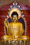 Het Standbeeld van Boedha bij Chinese Tempel Stock Foto's