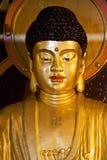 Het Standbeeld van Boedha bij Chinese Tempel Royalty-vrije Stock Afbeeldingen