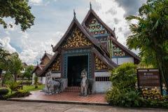 Het standbeeld van Boedha bij de tempel van Nong Bua Royalty-vrije Stock Afbeelding