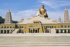 Het standbeeld van Boedha bij FO Guang Shan in Kaohsiung, Taiwan Royalty-vrije Stock Fotografie