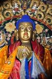 Het standbeeld van Boedha bij Klooster Erdenezuu in Mongolië Royalty-vrije Stock Foto