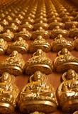 Het standbeeld van Boedha bij wat lengnoeiyi2 in Thailand Stock Foto