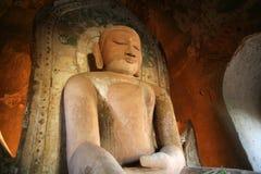 Het standbeeld van Boedha in Birma Royalty-vrije Stock Foto