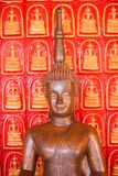 Het standbeeld van Boedha in boeddhisme royalty-vrije stock foto's