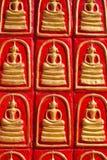 Het standbeeld van Boedha in boeddhisme stock foto's
