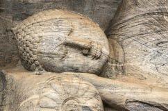Het Standbeeld van Boedha, Boedha in Meditatie, Slaapboedha Stock Foto's