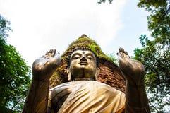 Het standbeeld van Boedha in Chiang Mai royalty-vrije stock foto