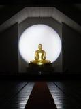 Het standbeeld van Boedha in Chiang Mai-tempel, Thailand stock afbeelding