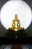 Het standbeeld van Boedha in Chiang Mai-tempel, Thailand stock foto's