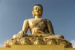 Het standbeeld van Boedha Dordenma in Thimphu Bhutan Stock Fotografie