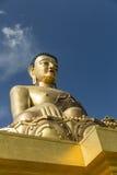 Het standbeeld van Boedha Dordenma in Thimphu Bhutan Stock Foto's