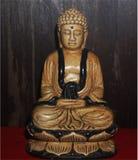 Het standbeeld van Boedha is een belangrijke godsdienst van Azië royalty-vrije stock fotografie