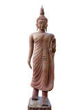 Het standbeeld van Boedha in gangactie Royalty-vrije Stock Foto's