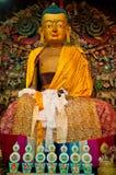 Het standbeeld van Boedha in Ghoom-klooster Royalty-vrije Stock Foto's