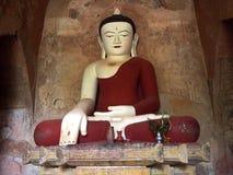 Het standbeeld van Boedha in het bagan, beeld van Boedha, Birma Royalty-vrije Stock Fotografie