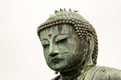 Het standbeeld van Boedha in Kamakura, Japan Royalty-vrije Stock Foto's