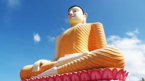 Het standbeeld van Boedha in Kande Vihara Royalty-vrije Stock Afbeeldingen