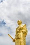 Het standbeeld van Boedha, lange po kun Stock Afbeelding