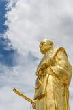 Het standbeeld van Boedha, lange po kun Stock Afbeeldingen