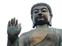 Het standbeeld van Boedha in Lantau, Hongkong Stock Foto