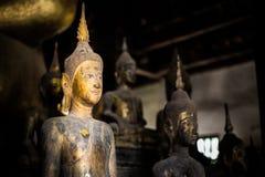 Het Standbeeld van Boedha - Luang Prabang, Laos Stock Afbeelding
