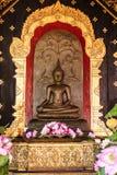 Het Standbeeld van Boedha in noordelijk Thailand Royalty-vrije Stock Foto's