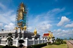 Het standbeeld van Boedha onder vernieuwing Royalty-vrije Stock Foto